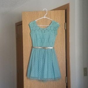 Lace and Tulle Dress, Short